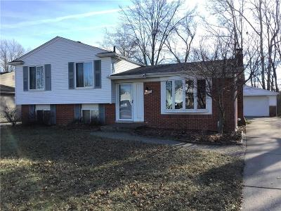 STERLING HEIGHTS Single Family Home For Sale: 14160 Mary Grove Drive