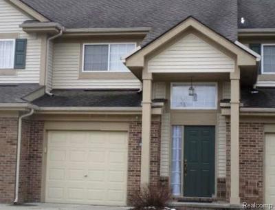 Auburn Hills Condo/Townhouse For Sale: 322 N Vista #117