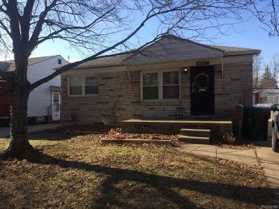 Detroit Single Family Home For Sale: 6053 Warwick Street