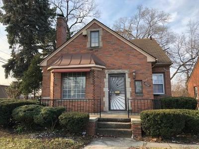 Detroit Single Family Home For Sale: 17131 Appoline Street