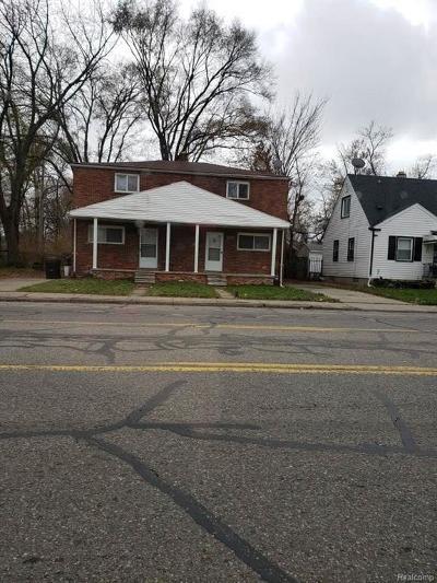 Detroit Single Family Home For Sale: 15335 S Chicago Street