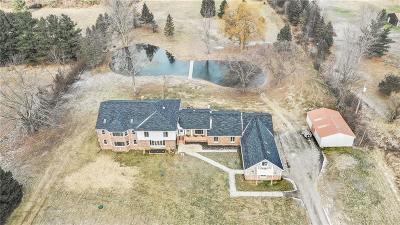 Holly Twp MI Single Family Home For Sale: $759,900