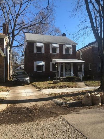 Detroit Single Family Home For Sale: 16554 Griggs Street