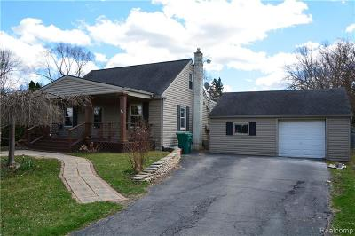 Van Buren, Van Buren Twp Single Family Home For Sale: 43981 S Interstate 94 Service Drive