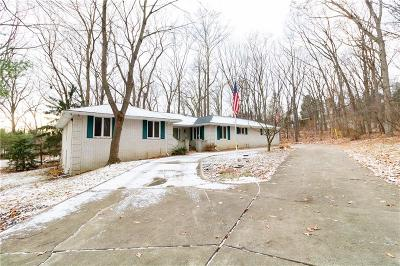 Rochester Hills Single Family Home For Sale: 6090 N Rochester Road