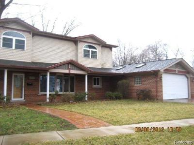 Dearborn Heights Single Family Home For Sale: 18139 Colgate Street
