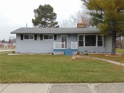 Warren Single Family Home For Sale: 11309 Warren Boulevard