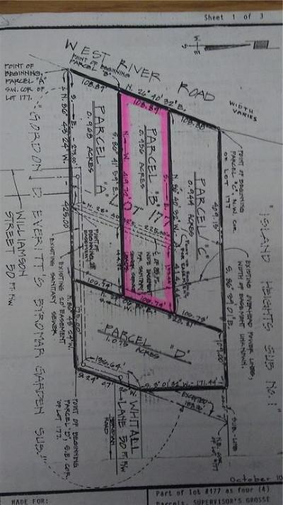 Grosse Ile, Gross Ile, Grosse Ile Twp Residential Lots & Land For Sale: West River Rd