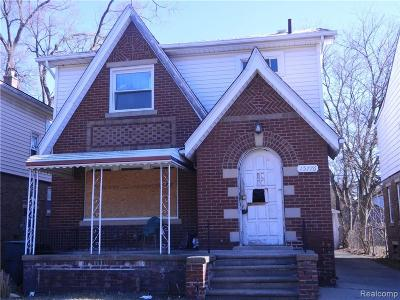 Detroit Single Family Home For Sale: 15776 Cheyenne Street