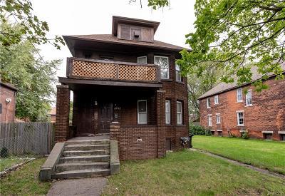 Detroit Single Family Home For Sale: 1092 N Rademacher Street