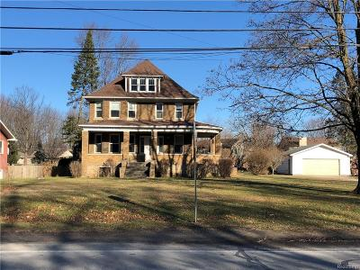 Brownstown Twp, Flat Rock, Riverview, Rockwood Single Family Home For Sale: 24890 Huron River