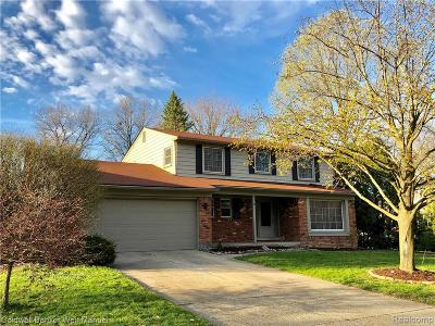 Northville Twp MI Single Family Home For Sale: $409,900