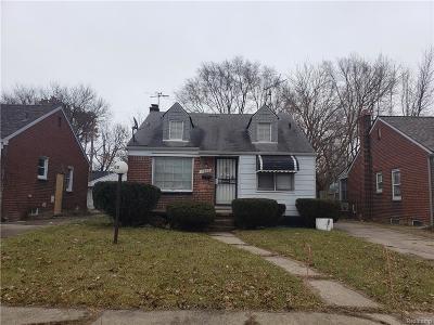 Detroit Single Family Home For Sale: 11968 Duchess Street