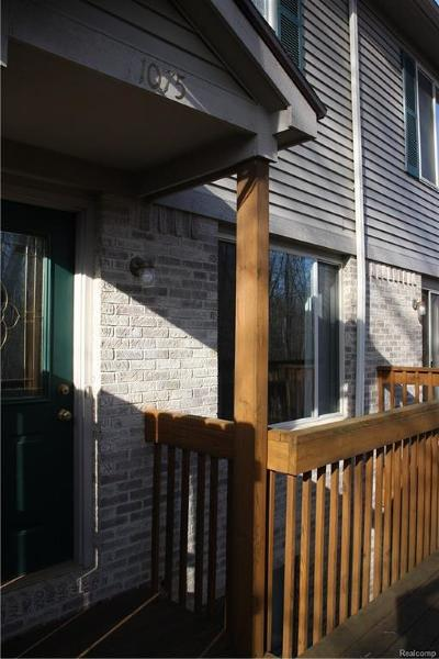 Holly Twp, Holly Vlg, Holly Condo/Townhouse For Sale: 1075 Old Leake Court