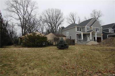 Royal Oak Residential Lots & Land For Sale: 2823 Coolidge Highway