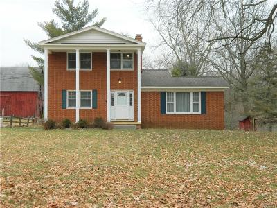 Brandon Twp Single Family Home For Sale: 670 Sands Road
