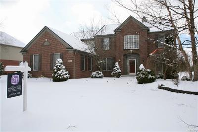 Canton, Canton Twp Single Family Home For Sale: 402 Sylvan Drive