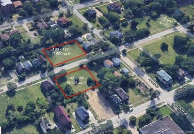 Detroit Residential Lots & Land For Sale: 1418 Helen Street