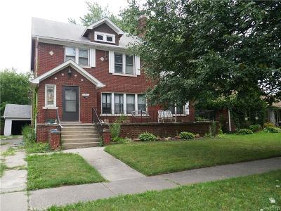 Detroit Single Family Home For Sale: 14862 Glastonbury Avenue