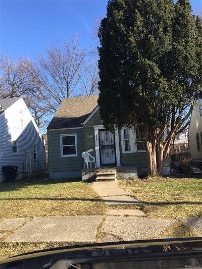 Detroit Single Family Home For Sale: 14060 Cherrylawn Street