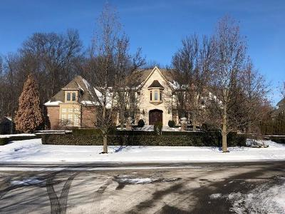 NOVI Single Family Home For Sale: 47870 Bellagio Court