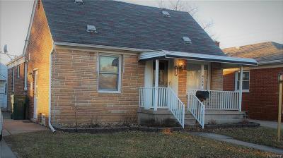 Lincoln Park Single Family Home For Sale: 4104 Duplex Avenue