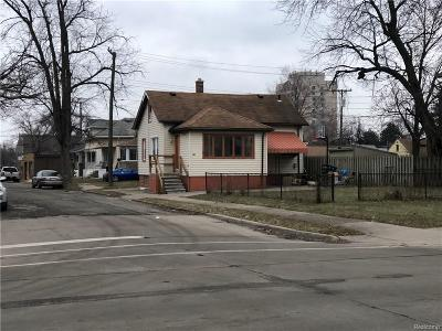Lincoln Park Single Family Home For Sale: 1305 Fort Park Boulevard