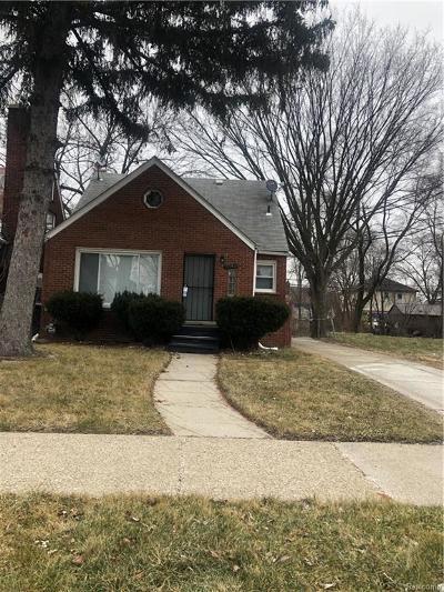 Detroit Single Family Home For Sale: 6540 Longacre Street
