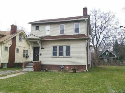 Detroit Single Family Home For Sale: 13297 Marlowe Street