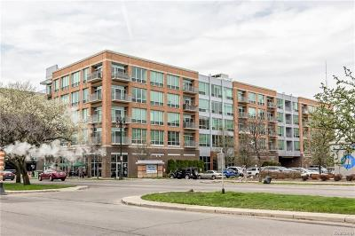 Detroit Condo/Townhouse For Sale: 3670 Woodward Avenue #407