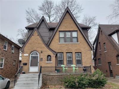 Detroit Single Family Home For Sale: 5751 Grayton Street