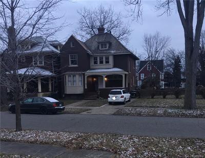 Detroit Single Family Home For Sale: 322 King Street
