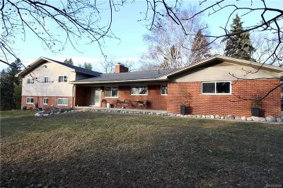 Bloomfield Twp Single Family Home For Sale: 911 Westview Road