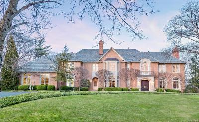 Bloomfield, Bloomfield Hills, Bloomfield Twp, West Bloomfield, West Bloomfield Twp Single Family Home For Sale: 1160 Pembroke Drive