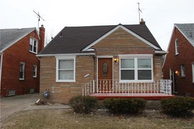 Detroit Single Family Home For Sale: 7647 Fielding Street