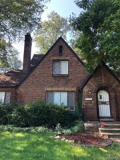 Detroit Single Family Home For Sale: 14175 Rutland Street