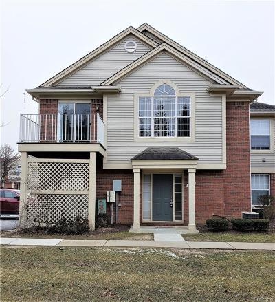 Rochester MI Condo/Townhouse For Sale: $188,888