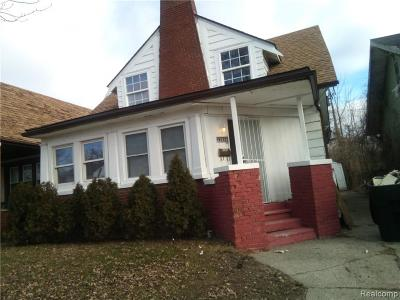 Detroit Single Family Home For Sale: 15656 Normandy St.