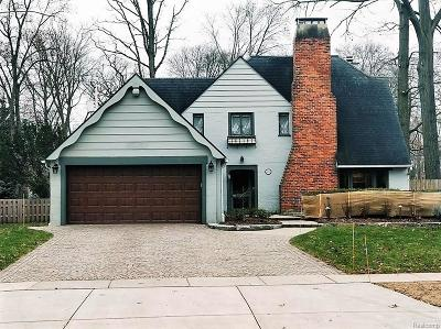 Birmingham Single Family Home For Sale: 824 Wimbleton Drive