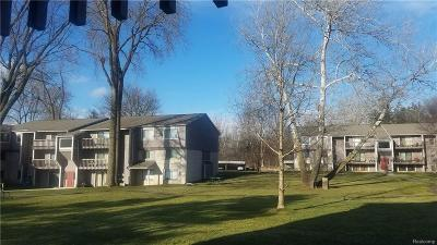 Farmington Hills Condo/Townhouse For Sale: 29830 W 12 Mile Road