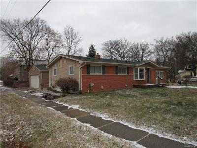 Farmington Hills, Farmington, Livonia, Redford Single Family Home For Sale: 20309 Melvin Street
