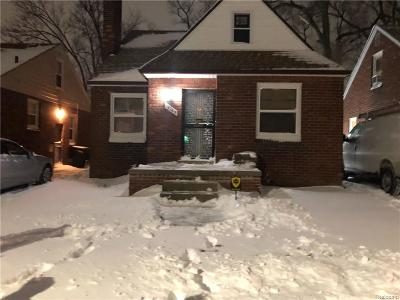 Detroit Single Family Home For Sale: 19165 Prevost Street