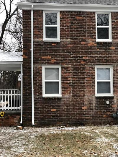 Detroit Single Family Home For Sale: 19187 Meyers Road