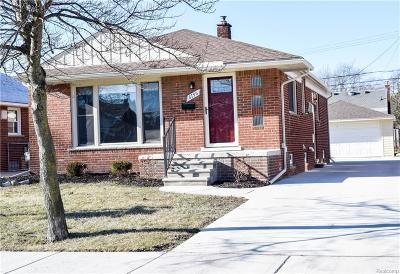 Allen Park MI Single Family Home For Sale: $191,900