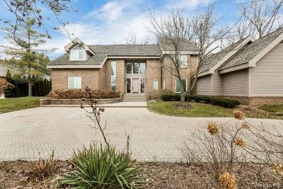 Bloomfield Twp Single Family Home For Sale: 4740 W Wickford