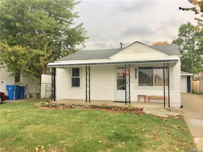 Dearborn Heights Single Family Home For Sale: 6528 Gulley