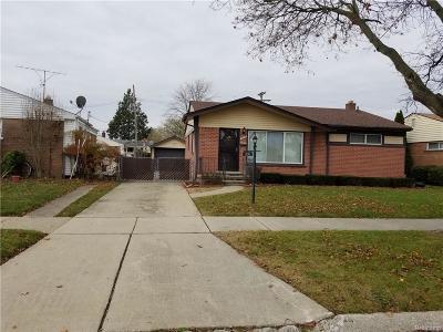 Westland Single Family Home For Sale: 238 Shotka Street