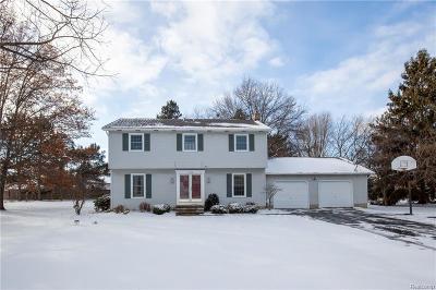 Fenton MI Single Family Home For Sale: $259,900