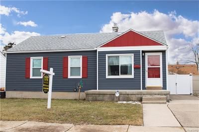 Southgate Single Family Home For Sale: 12644 Agnes Street