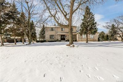 West Bloomfield Single Family Home For Sale: 2222 Keylon Drive